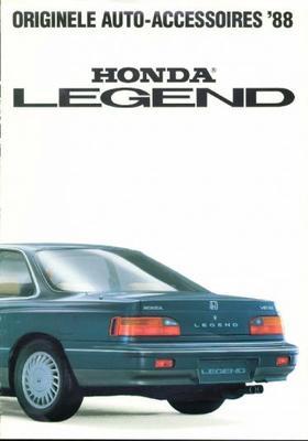 Honda Legend Coupe, Sedan