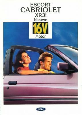 Ford Escort Cabriolet Xr3i 16v,