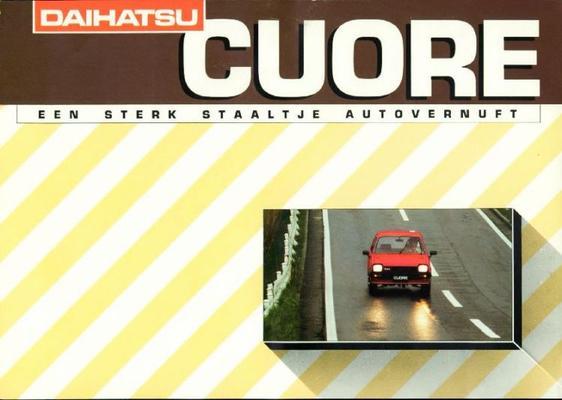 Daihatsu Cuore Sdl,de Luxe