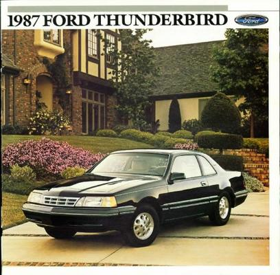 Ford Thunderbird Standard, Sport, Ls, Coupe