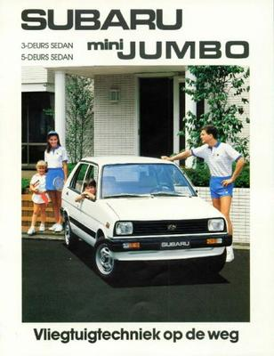 Subaru Mini Jumbo Sedan Dl,sdx