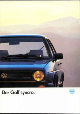 Volkswagen Golf Syncro,syncro Cl