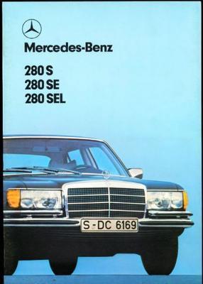 Mercedes-benz  280 S,280 Se,280 Sel