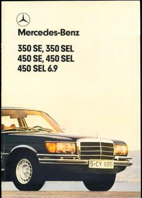 Mercedes-benz  350 Se,350 Sel,450 Se,4850 Sel,450