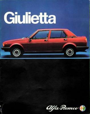 Alfa Romeo Giulietta 1.3, 1.6, 1,8