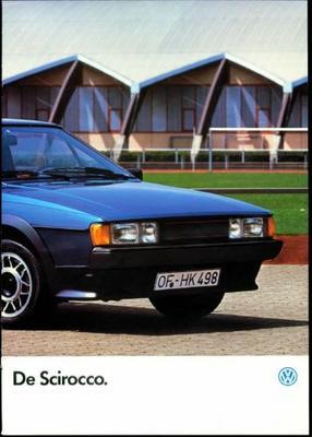 Volkswagen Scirocco Gtx,gtl,gt