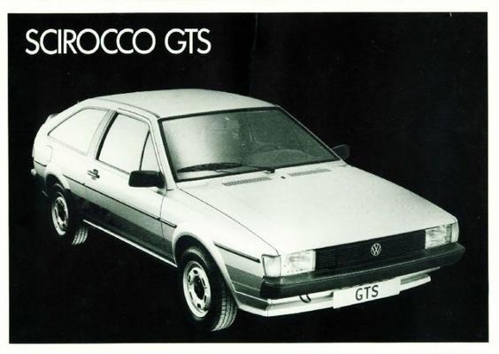 Brochure Volkswagen Scirocco (1985) - AutoWeek nl