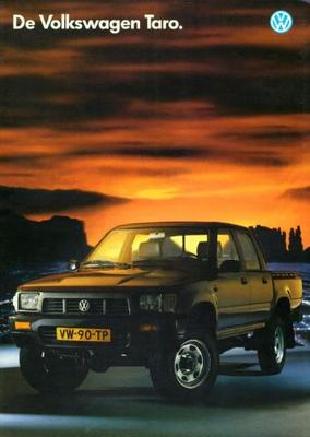 Volkswagen Taro Tarotaro 4wd Enkele Cabine,dubbele