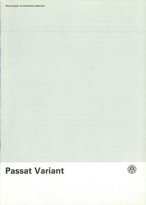 Volkswagen Passat Variant 53 Kw,66 Kw,85 Kw, Syncr