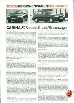 Toyota Carina E 1.6,2.0,gt,diesel