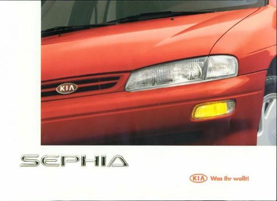 Kia Sephia 1,5 Egi, 1,8 Dohc 16v, 1,5 Slx, 1,5 Gtx