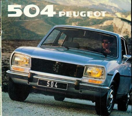 Peugeot 504 Gr,sr,grd,srd
