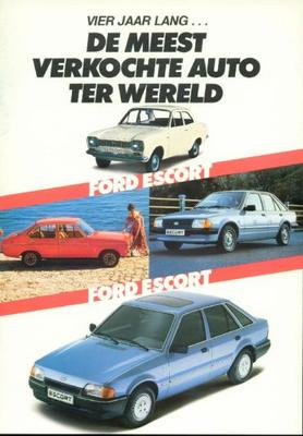 Ford Escort Xr3i,1600,rs Turbo,1400,1100,1300