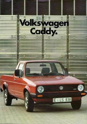 Volkswagen Caddy Pick-up,met Huif,met Vaste Opbouw
