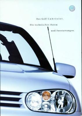 Volkswagen Golf Cabriolet,trendline,comfortline,hi