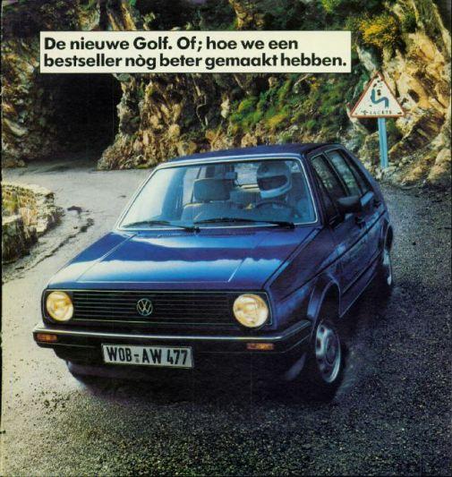 Brochure Volkswagen Golf (1983)
