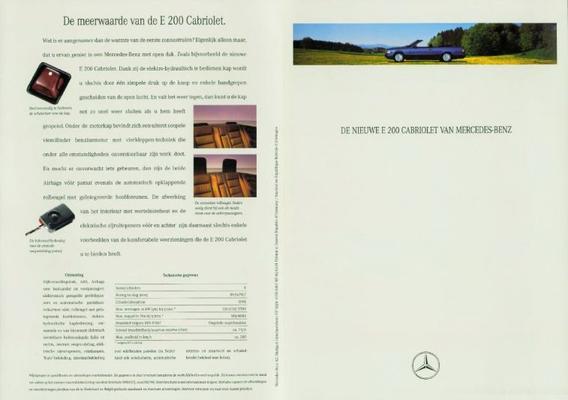 Mercedes-benz Cabriolet E200
