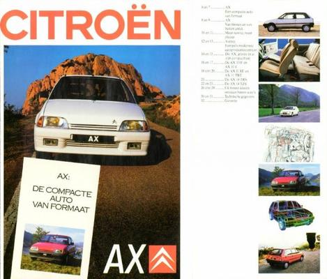 Citroen Ax 10e,11e,11re,11tre,14trs14tzs,