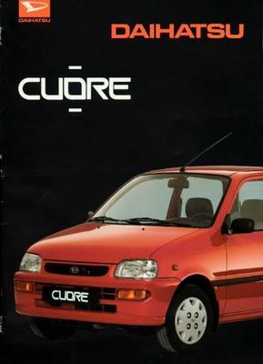Daihatsu Cuore Tg,ts,tx,cs,cx