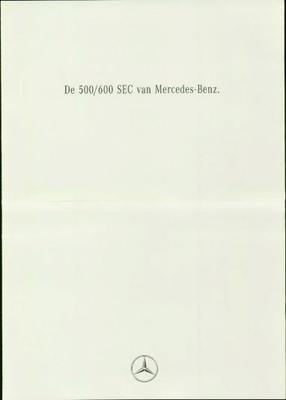 Mercedes-benz 500 Sec,600 Sec