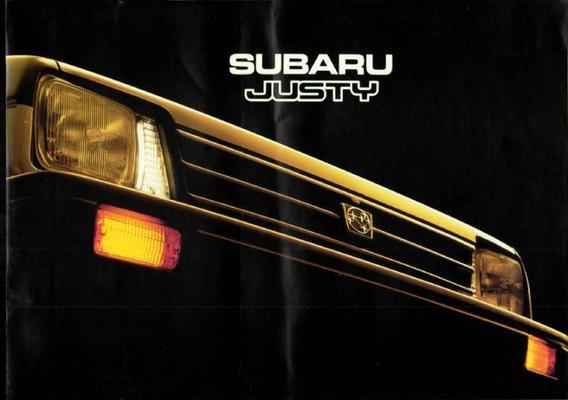 Subaru Justy Dl,s,gl,sll Sunroof,gl Ll