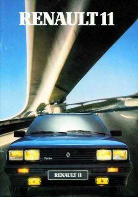 Renault 11 Turbo,gtl,gtd,gtx,txe
