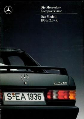 Mercedes-benz 190 E 2.3 16