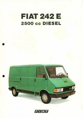 Fiat 242 E 2500 Cc Diesel