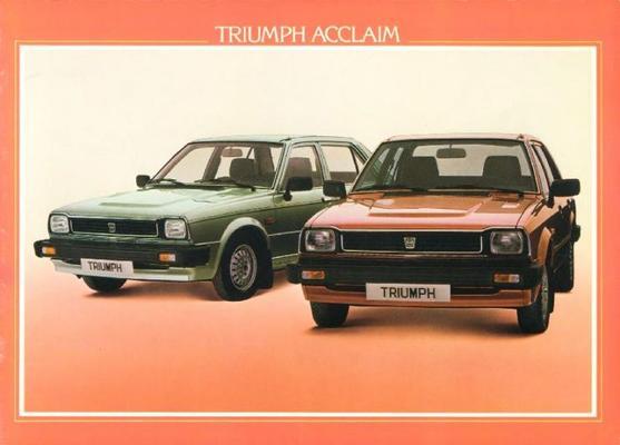 Triumph Acclaim Hls,hl