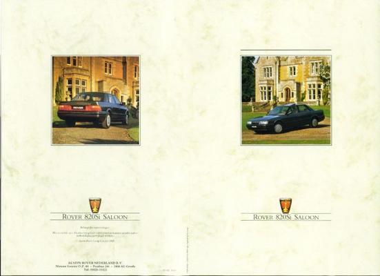 Rover Rover Saloon 820si 820si