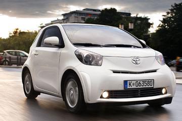 Toyota IQ aan de prijs