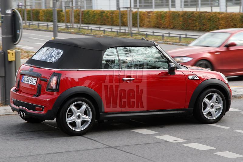 Gesnapt: Mini Cooper S Cabrio