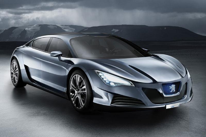 Stoere hybride concept van Peugeot