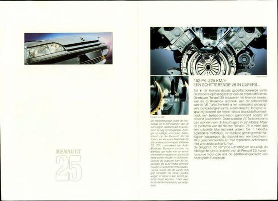 Renault 25 Ts,gts,td,gtd,turbo D,tx,tx K6,gtx K6,g