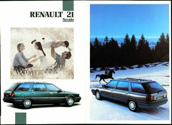 Renault 21 Nevada Tl,td,gts,gtd,turbo D,txe