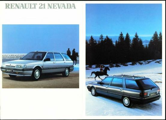 Renault 21 Nevada Tl,gtx,txe,sd,gtd,turbo D