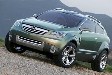 Opel Antara GTC: voorbode van Frontera