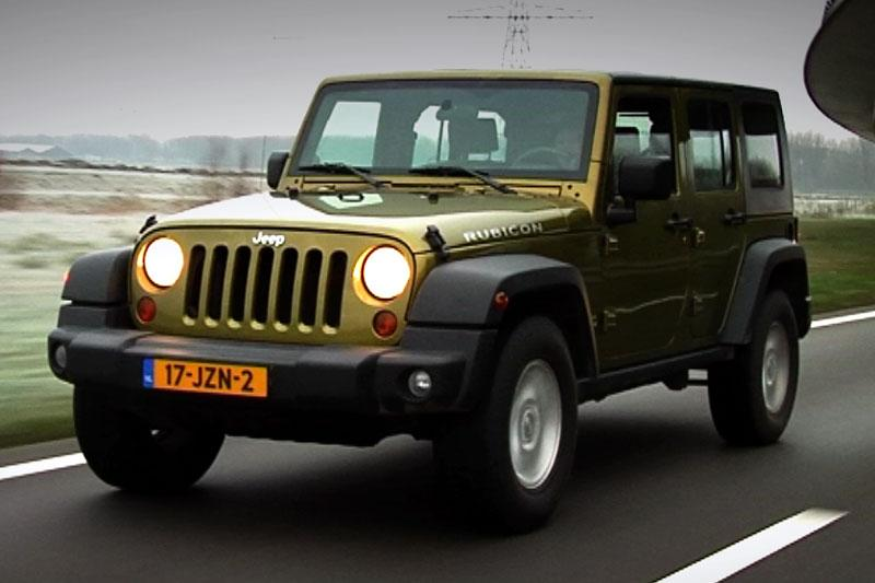 Testrapport - Jeep Wrangler Unlimited