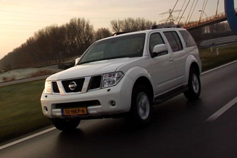 Testrapport - Nissan Pathfinder 2.5 DCi