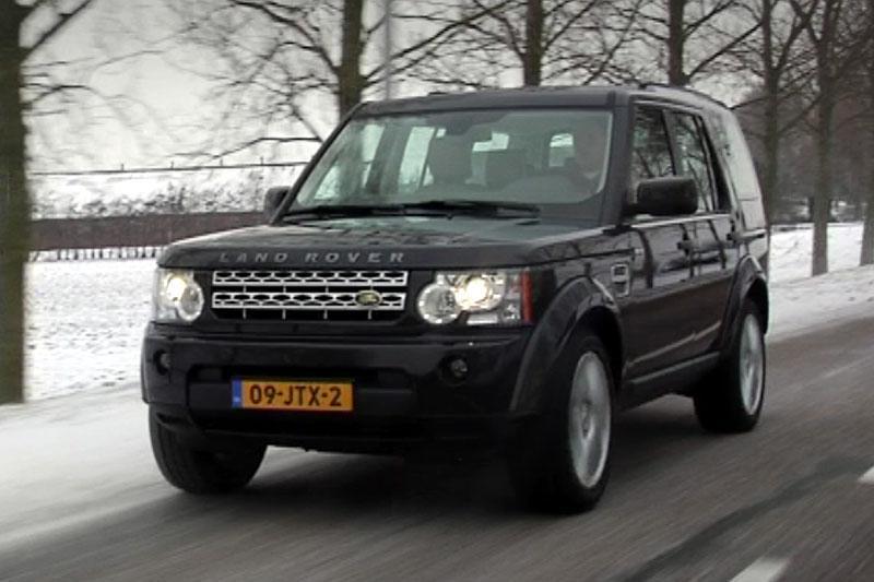 Rij-impressie Land Rover Discovery 4