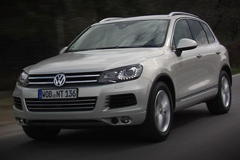 Rij-impressie Volkswagen Touareg