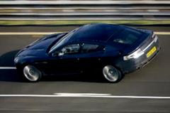 Aston Martin test de Rapide
