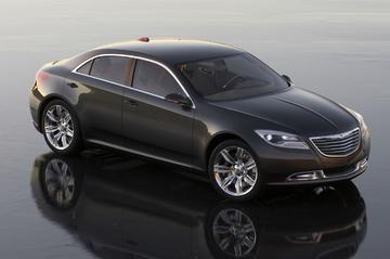 Met de Chrysler 200C de toekomst in