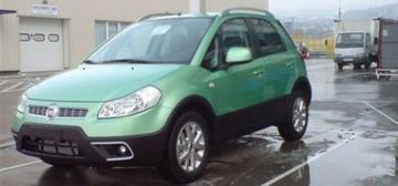 Fiat Sedici gefacelift