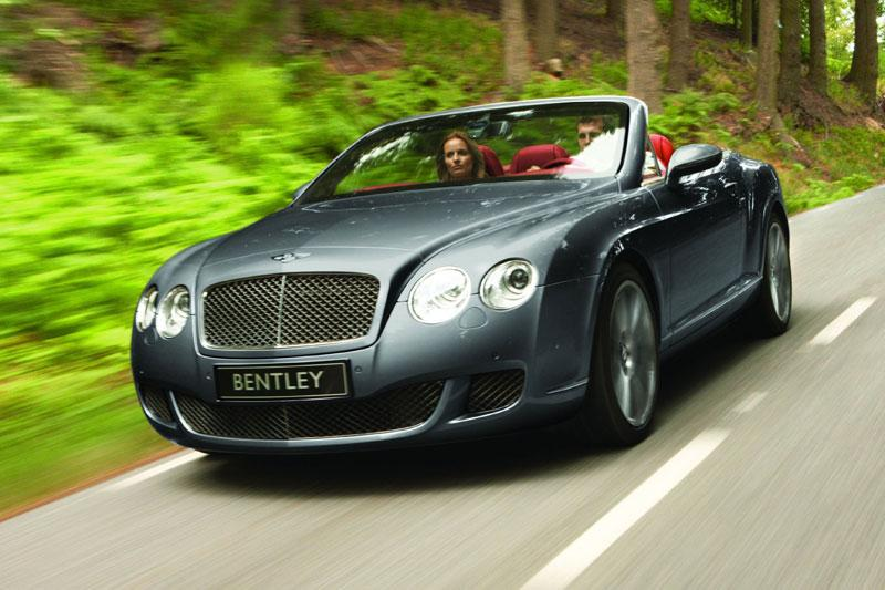 Rij-impressie Bentley Continental GTC Speed
