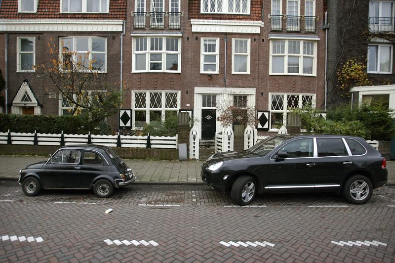 Parkeren in Amsterdam - foto: ANP