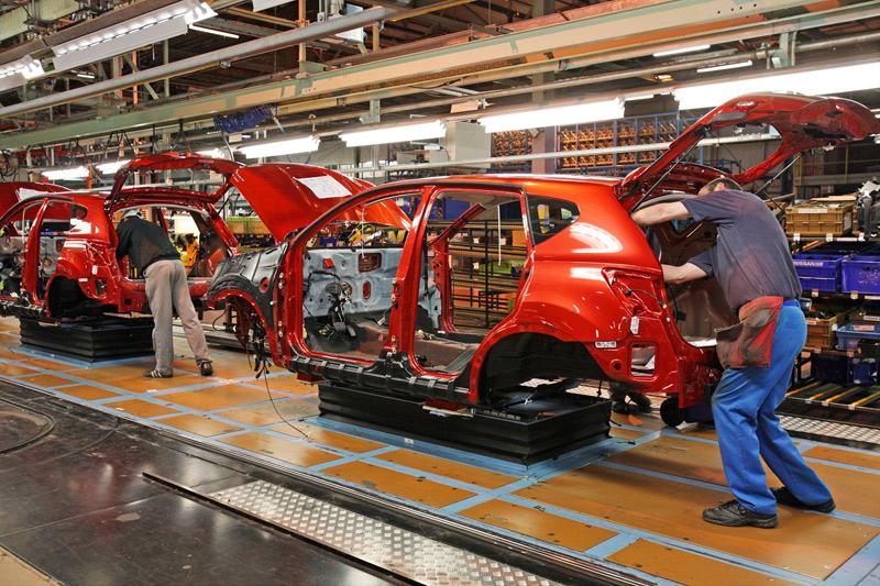 Autoproductie in Europa 35 procent omlaag
