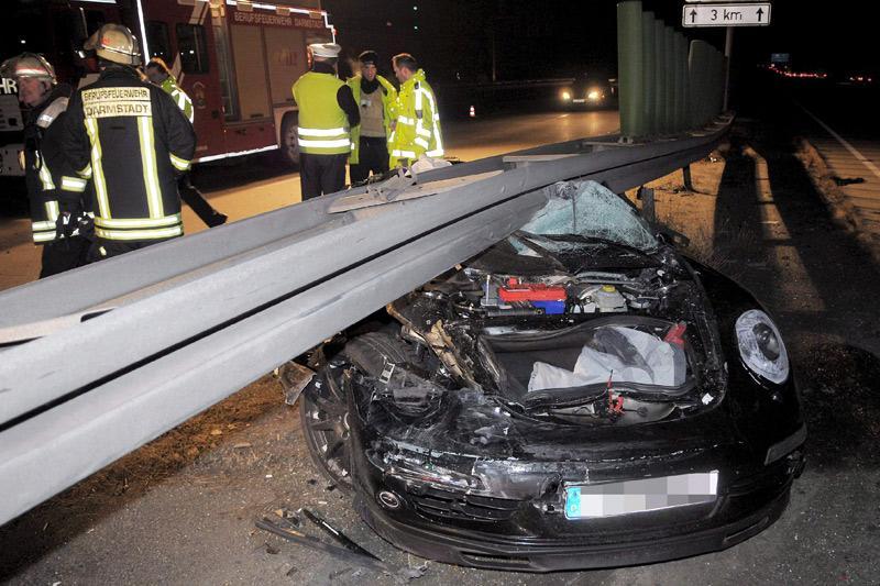 Porsche-testrijder verongelukt | Foto: ANP/EPA