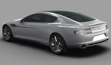 Wachten op de Aston Martin Rapide