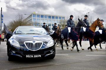 Tweehonderd paarden voor Lancia Delta